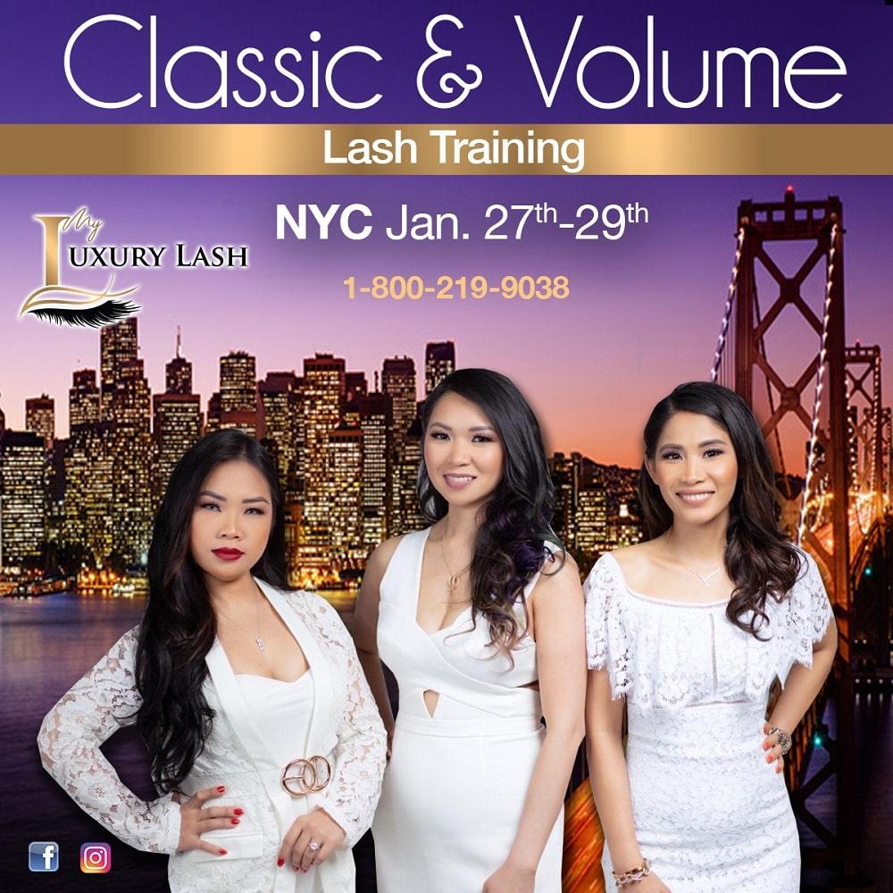 classic and volume training nyc jan 27-29