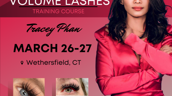 Volume Lash Course – Wethersfield, CT (March 26-27)