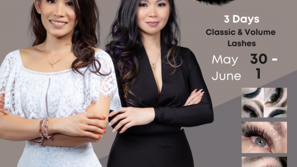 Classic & Volume Course – Houston, TX (May 30- June 1)
